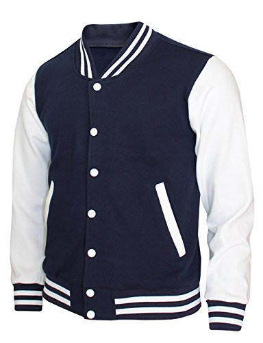 BCPOLO Baseball Jacket Varsity Baseball Cotton Jacket Letterman jacket 8 Colors