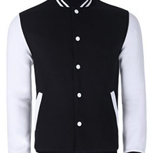 Paul Jones Slim Fit Cotton Lightweight Varsity Baseball Jacket