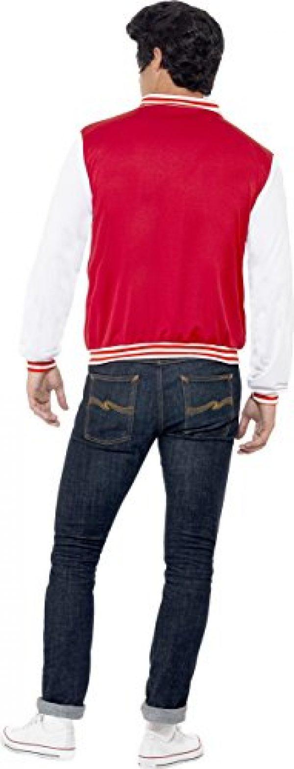 Smiffy's Men's 50's College Jock Letterman Jacket