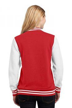 Sport-Tek Women's Fleece Letterman Jacket