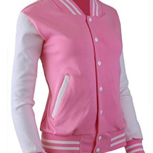The-Tops Women's Baseball Jacket Varsity Cotton Letterman Jackets