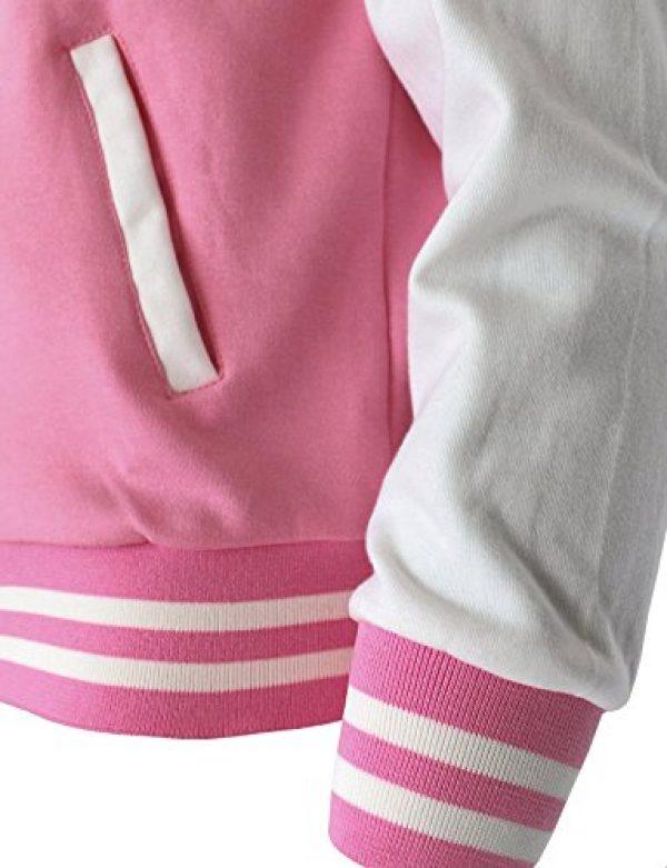 The-Tops Women's Baseball Jacket Varsity Cotton Letterman Jackets