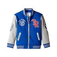 True Religion Kids Mens Letterman Jacket Toddler Little Kids