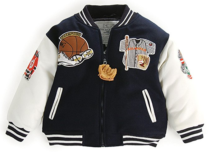 Up and Away Boys' Letterman Jacket