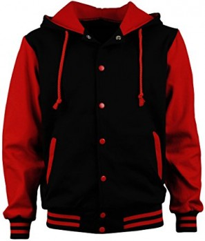 Angel Cola Men's Cotton Hoodie Varsity Jackets